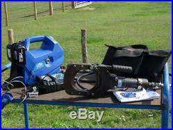 Klauke AHP700L Portable Hydraulic Battery Powered Pump & Cembre TC120 Cutter