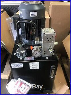 MONARCH Hydraulic Power Unit, 5 HP, 208-230/460VAC, Number of Phases 3