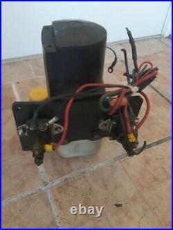 Marine Boat Power Pole Shallow Water Anchor and Hydraulic Pump
