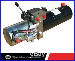 Maxim Double Acting Power Unit 1.3 GPM, 3 QT. Poly, 2500 PSI Solenoid Operated