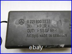 Mercedes S Klasse W221 Hydraulikpumpe Heckklappe Pumpe lift motor A2218001548