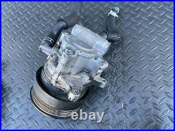 Mercedes W221 W216 S550 S600 Cl550 Power Steering Tandem Pump Abc Hydraulic Oem