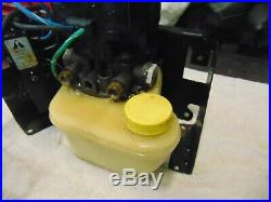Mercruiser used power trim pump assembly Part # 14336A8 865380A13 HYDRAULIC PUMP