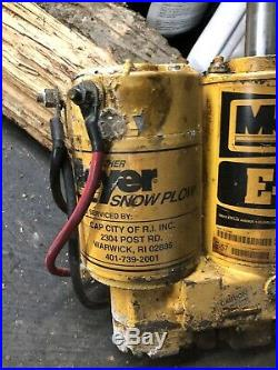 Meyer E 57 Hydraulic Plow Pump electro touch power angle like E47