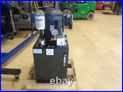 Monarch Hydraulic Power Unit 5 HP 208-230/460vac 2500 Psi 3 Gpm 38vp28 Bsr
