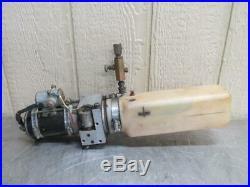 Monarch Hydraulic Power Unit Pack Pump 12v Western 08053 Motor