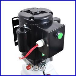 NEW 10L Single Acting Hydraulic Pump Dump Trailer 220V Power Unit Lift for Car