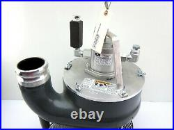 NEW Burndy HTP3 3 Discharge Hydraulically Powered Submersible Trash Pump 500GPM