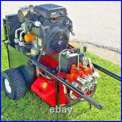 NEW HEAVY DUTY HYDRAULIC POWER UNIT, 22.5hp (compaction grouting & underpinning)