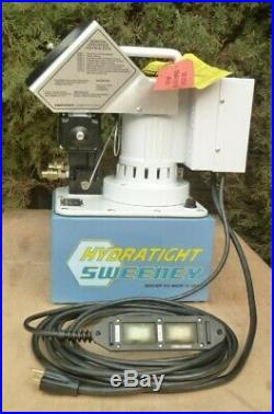 NEW Hydratight Sweeney X1E Electric Hydraulic Torque Wrench Pump, Power Team