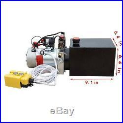 New 12V Hydraulic Pump /Hydraulic power unit/Electric dump trailer power unit