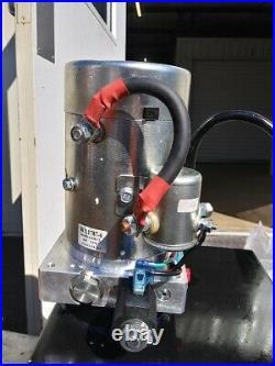 NorTrac Dump Trailer Power Unit12V DC Motor For Single-Acting Cylinder, # 53464