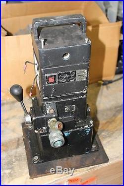 Otc Vanguard Hydraulic Power Unit Pump 1/2hp 115v