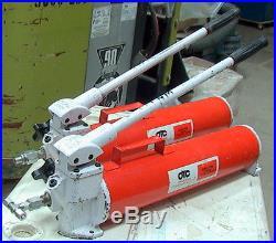 Owatonna Tool OTC Power Team Series P158 M# A 2-Speed Hydraulic Hand Pump 10K
