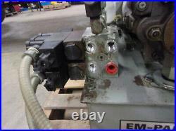 Parker Em-pak Hydraulic Power Unit 10 Gal