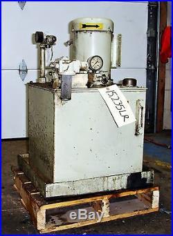 Parker Hydraulic Power Supply Unit 2HP Mod#V27KP0X48587 15235LR