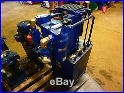 Parker Hydraulic Power Unit Hpu 7070bmd 876479 Hpu7070bmd876479
