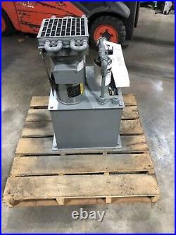 Parker V-Pak V14KS3PAK0/10. 3 Hp Hydraulic Power Unit 1000 PSI. NEW