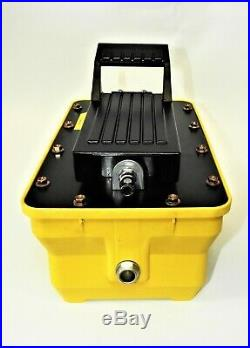 Porta Power Air Operated Hi Pressure Hydraulic Pump 10000 PSI 680 Bar with HOSE