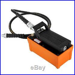 Porta Power Hydraulic Air Foot Pump 1/2 gal Foot Pedal Control Save
