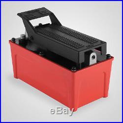 Porta Power Hydraulic Air Foot Pump 1/2 gal Foot Pedal Fuel Fits- RJ6 RJ7
