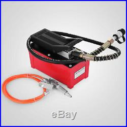 Power Hydraulic 10000PSI Air Foot Pump 10 Ton Replacement Pump With Hose