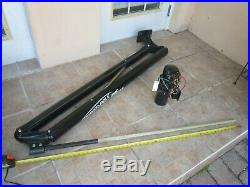 Power Pole Shallow Water Anchor with Hydraulic Pump Marine Boat