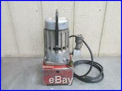 Power Products 115v Portable Hydraulic Pump with Tank 5/8 HP 1 PH Porta Power