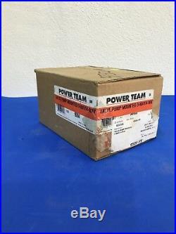 Power Team 9504 Valve Pump Mounted 3 Way / 4 Way 9504-PT