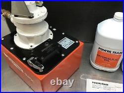 Power Team PA462 Model A Air Driven Single Acting Hydraulic Pump 10000PSI -NEW