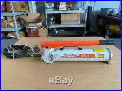 Power Team/SPX/Enerpac Model P159 10K PSI Hydraulic Hand Pump with Gauge