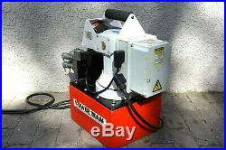 Power Team SPX pe55 Electric Hydraulic 4 Tool Multi System Pump self contained