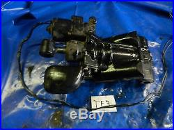Power tilt trim motor pump hydraulic assembly 2001 150 HP Evinrude outboard TF1