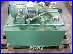 REULAND HYDRAULIC POWER PACK 11056V 1.5hp 230/460V 3PH w VICKERS Pump V-105-C-10
