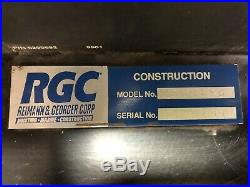 RGC Gas Powered Hydraulic Pump With Hoses, Ring Saw, 2 New Ring Saw Blades