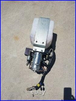 RV Lippert Jack Hydraulic Power Leveling System Unit Pump 414850 with Reservoir