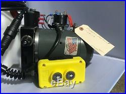 Refurbished KTI Dump Trailer Hydraulic Power Unit Double Acting 12v 6QT tank