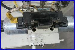 Rexroth A10VSO18DR 5Hp Hydraulic Power Unit 30 Gal 230/460V4000PSI 15.7GPM Pump