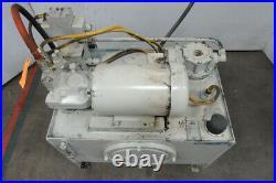Rexroth A10VSO18 5Hp Hydraulic Power Unit 30 Gal 230/460V 4000PSI 15.7GPM Pump