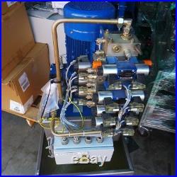 Rexroth R901 158 245, HS-013-B517-2-A Hydraulic Power Unit with Pump