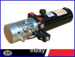 SPX HYDRAULIC POWER UNIT 12V DC 3 QT. Steel Tank, 1.4 GPM FLOW, SAE 6 Port Size