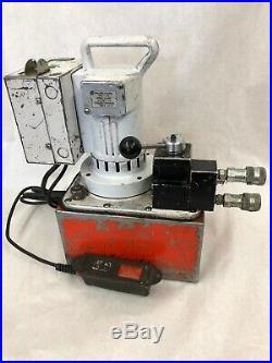 SPX POWER TEAM HYDRAULIC PUMP PE550 With Control