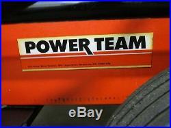 SPX POWER TEAM PE55A-FY-C-A-A-J-E ELECTRIC HYDRAULIC PUMP With HOSES 10,000PSI