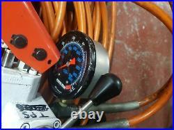 SPX Power Team P159D Hydraulic Hand Pump & Pipes