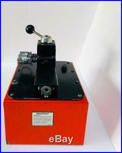SPX Power Team PA6DM-2 Hydraulic Air Pump For Double Acting Cylinder 700 Bar