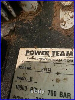 SPX Power Team PE174 Electric Hydraulic Pump 10,000psi Great Price