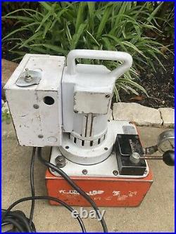 SPX Power Team PE550 Electric Hydraulic Pump 10000psi Great Price