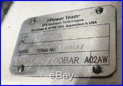 SPX Power Team PE552A Pump Lightly Used
