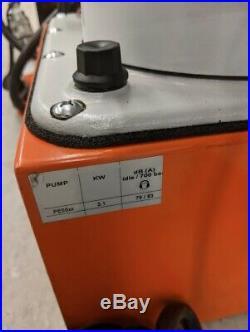 SPX Power Team PE552A Pump With Hydraulic Return Cylinder