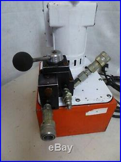 SPX Power Team PE552 Electric Portable Hydraulic Pump for Single Acting Cylinder